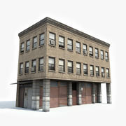 Apartment Building 10 3d model