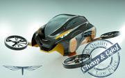\\ T // Copter Car 09 3d model