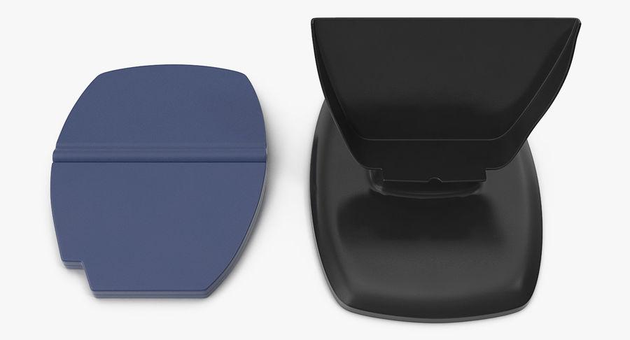 非接触式信用卡读卡器和支架 royalty-free 3d model - Preview no. 7
