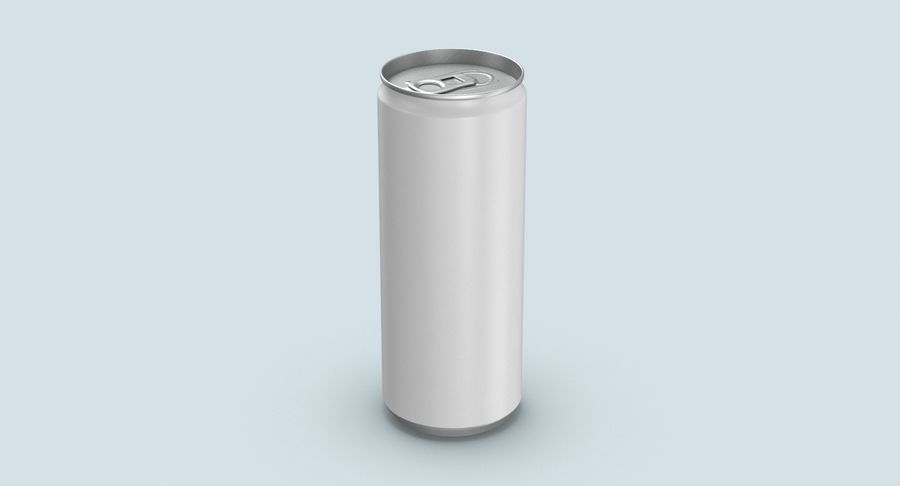 250mlソーダ缶モックアップ royalty-free 3d model - Preview no. 3