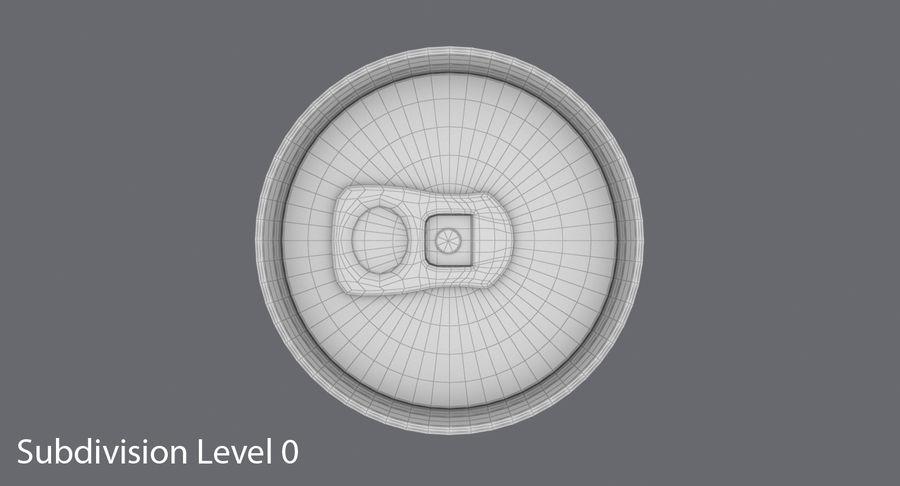 250mlソーダ缶モックアップ royalty-free 3d model - Preview no. 13