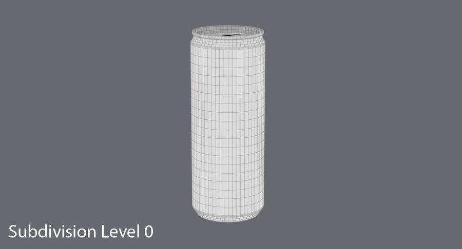 250mlソーダ缶モックアップ royalty-free 3d model - Preview no. 14