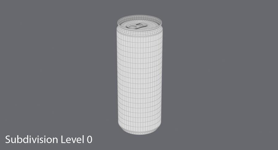 250mlソーダ缶モックアップ royalty-free 3d model - Preview no. 12