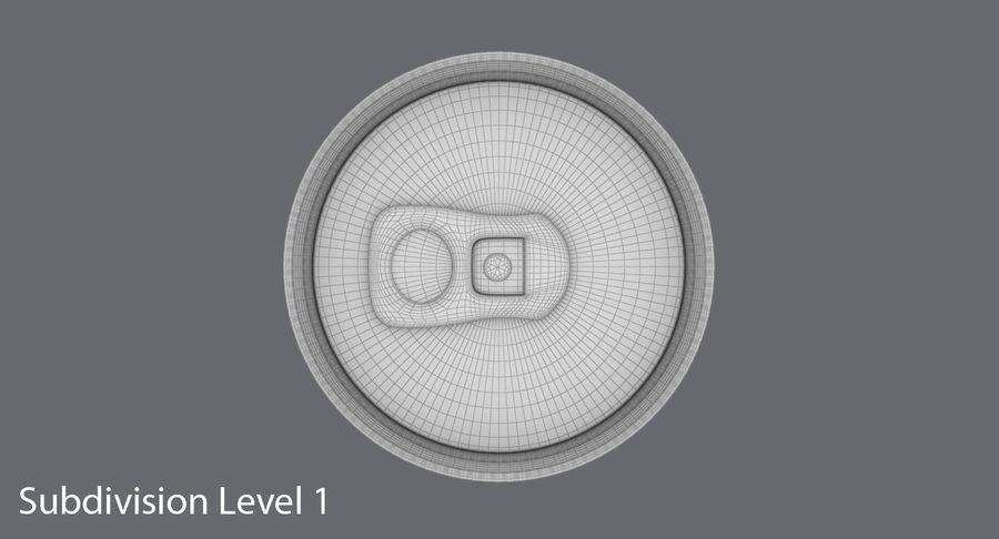 250mlソーダ缶モックアップ royalty-free 3d model - Preview no. 16