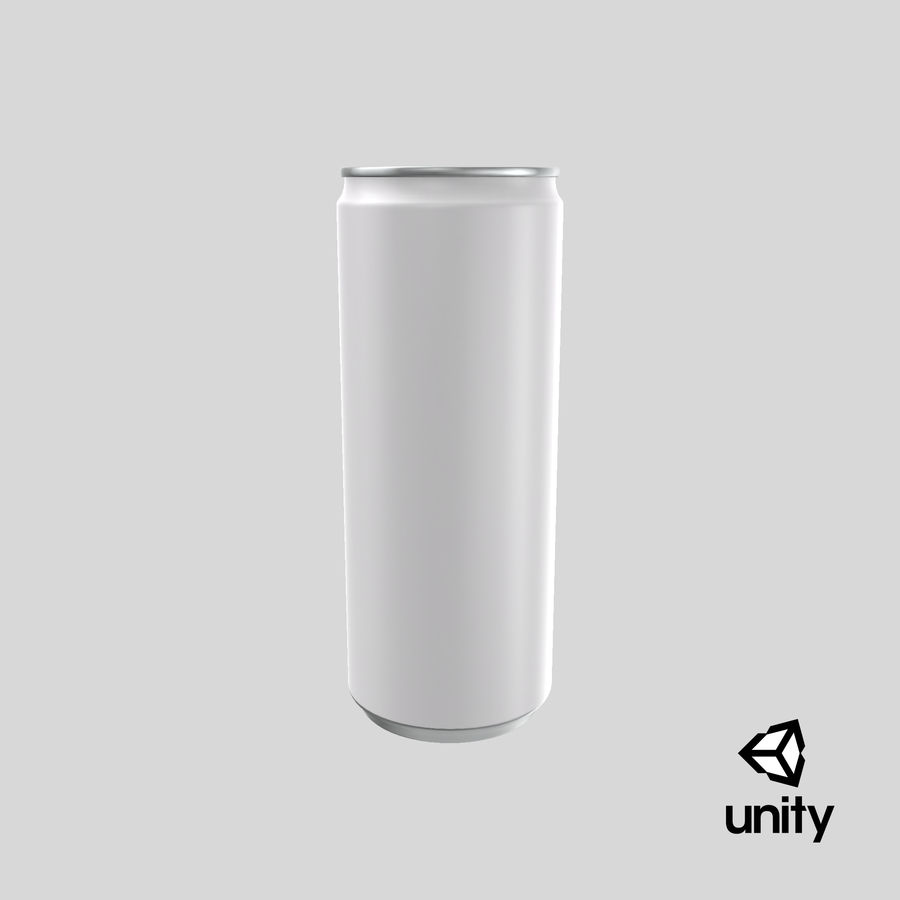 250ml Soda Can Mockup royalty-free 3d model - Preview no. 23