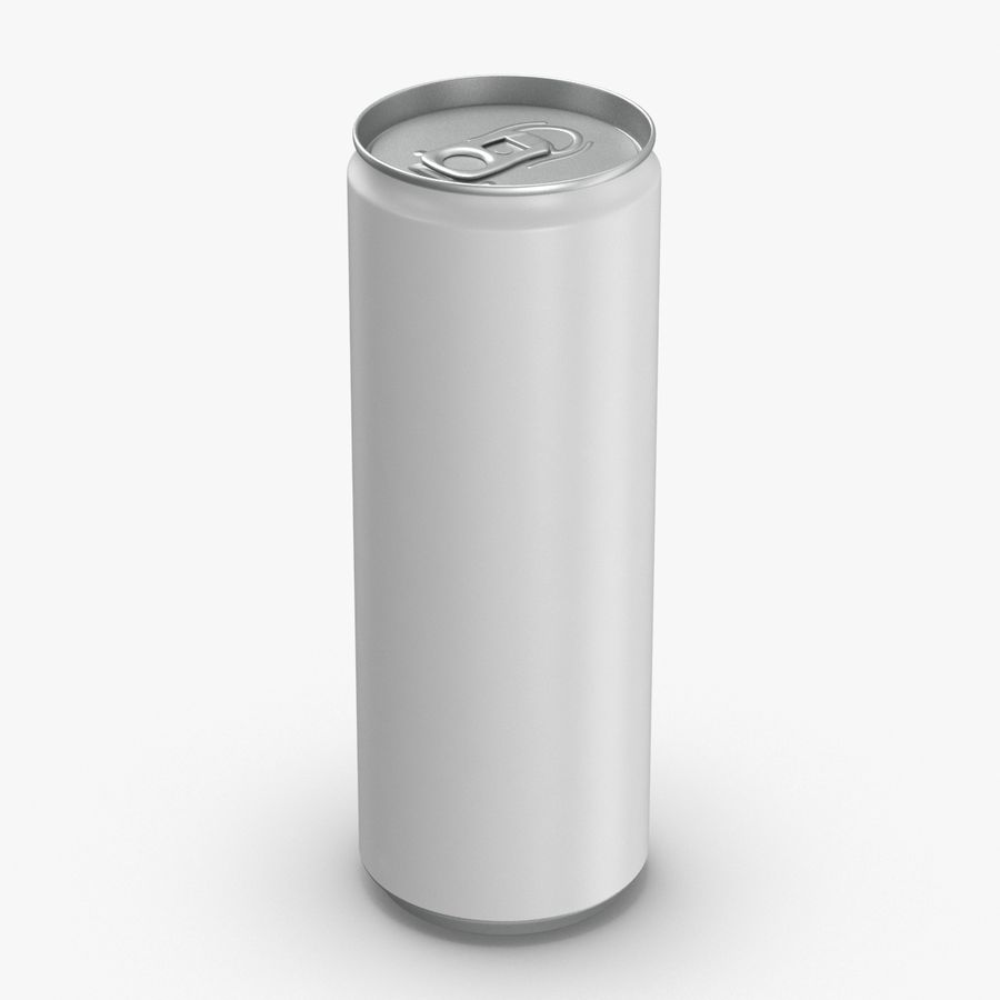 355ml  Soda Can  Mockup royalty-free 3d model - Preview no. 1