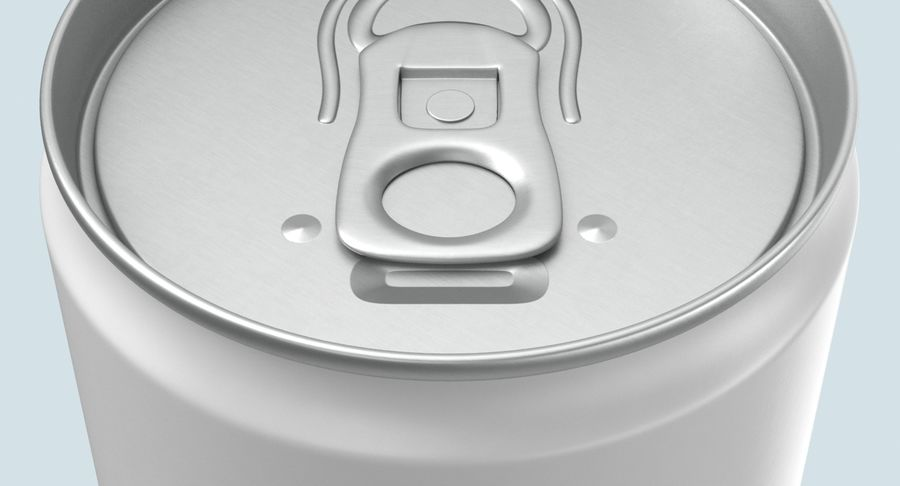 355ml  Soda Can  Mockup royalty-free 3d model - Preview no. 10
