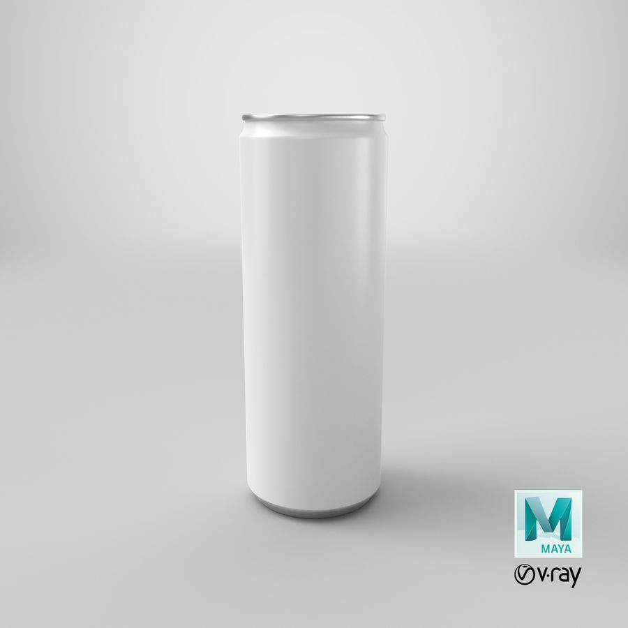 355ml  Soda Can  Mockup royalty-free 3d model - Preview no. 19