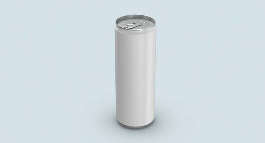 355ml  Soda Can  Mockup royalty-free 3d model - Preview no. 3