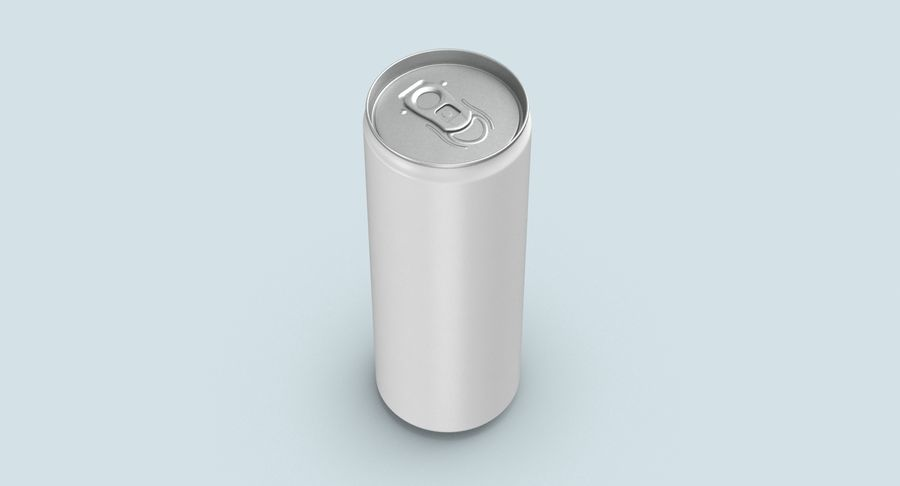 355ml  Soda Can  Mockup royalty-free 3d model - Preview no. 7