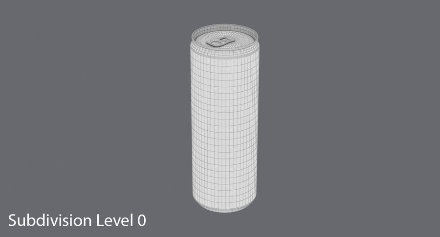 355ml  Soda Can  Mockup royalty-free 3d model - Preview no. 12
