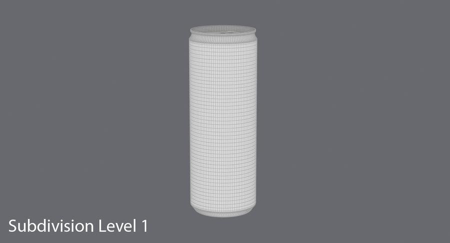 355ml  Soda Can  Mockup royalty-free 3d model - Preview no. 17