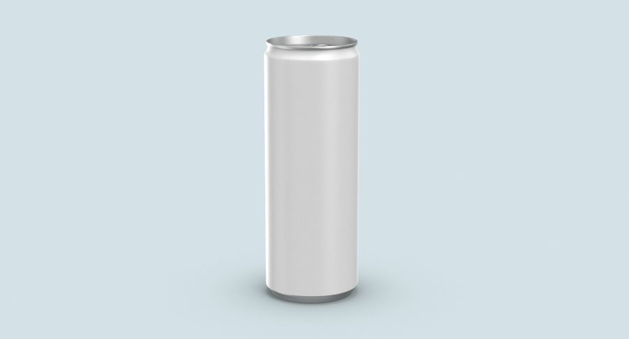 355ml  Soda Can  Mockup royalty-free 3d model - Preview no. 6