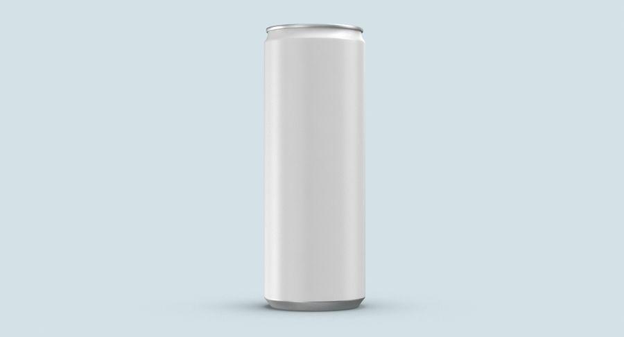 355ml  Soda Can  Mockup royalty-free 3d model - Preview no. 8