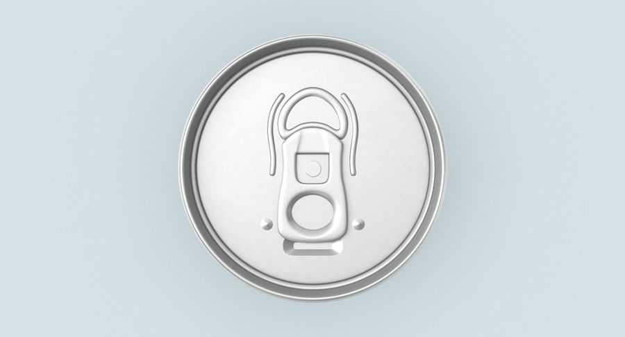355ml  Soda Can  Mockup royalty-free 3d model - Preview no. 5