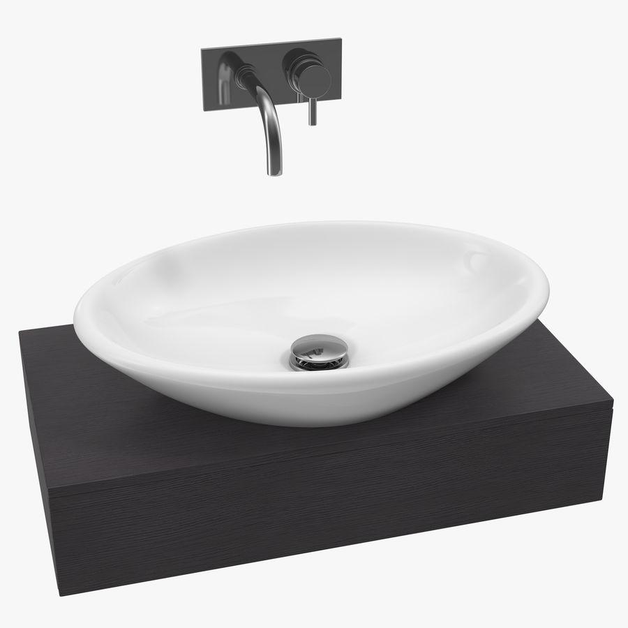 Vasque de lavabo à poser en céramique modèle 3D $29 - .max ...