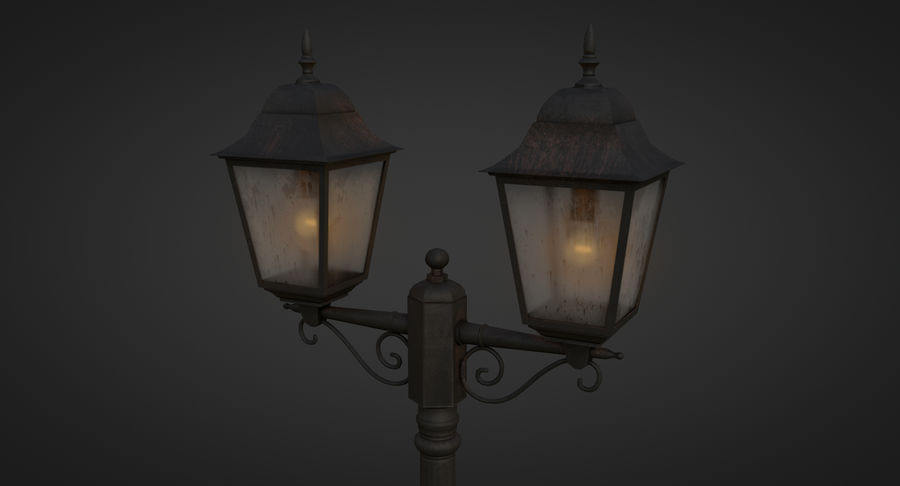 Street Light royalty-free 3d model - Preview no. 7