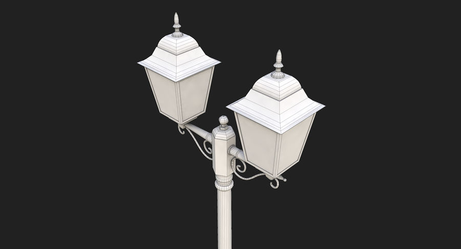 Street Light royalty-free 3d model - Preview no. 17