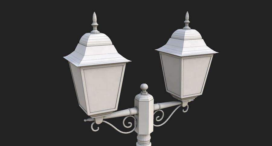 Street Light royalty-free 3d model - Preview no. 13
