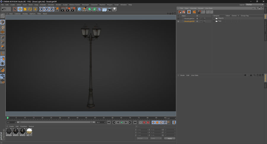 Street Light royalty-free 3d model - Preview no. 22