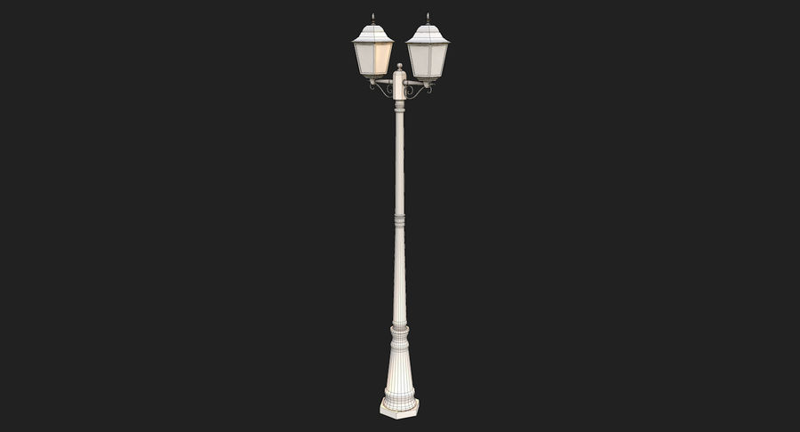 Street Light royalty-free 3d model - Preview no. 12