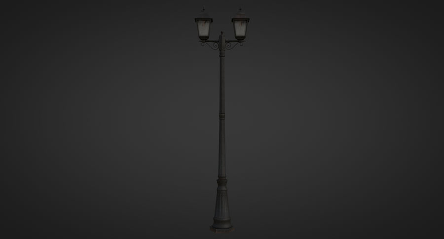 Street Light royalty-free 3d model - Preview no. 8