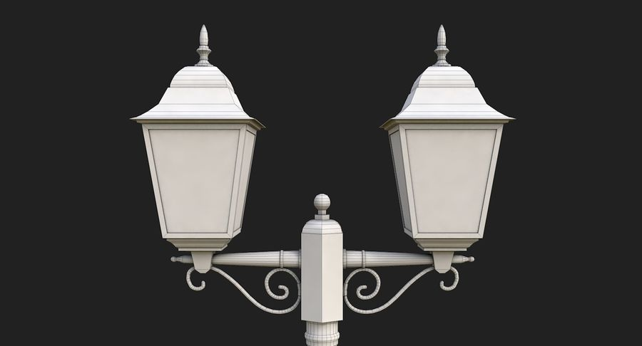 Street Light royalty-free 3d model - Preview no. 16