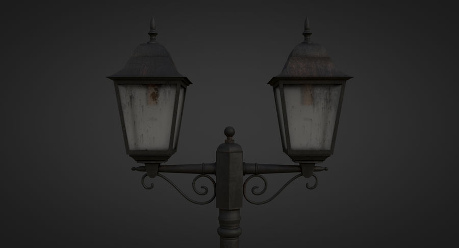 Street Light royalty-free 3d model - Preview no. 11