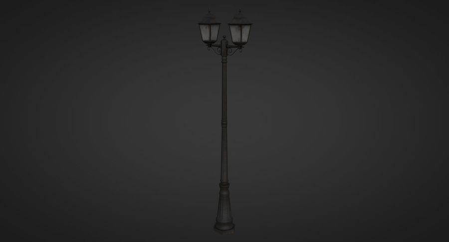 Street Light royalty-free 3d model - Preview no. 3