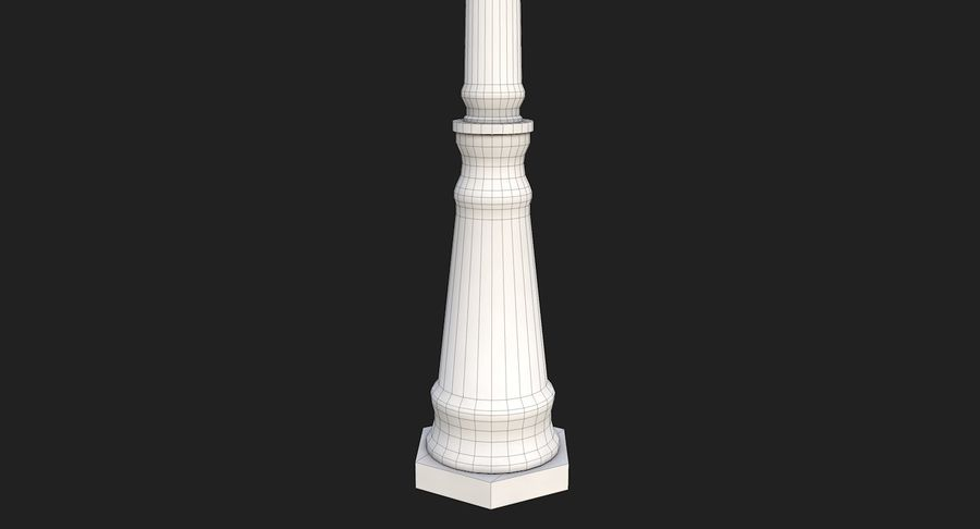 Street Light royalty-free 3d model - Preview no. 14