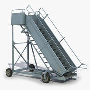 Airplane Stair 3d model