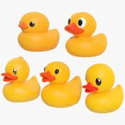 Rubber Duck Pack 01 3d model