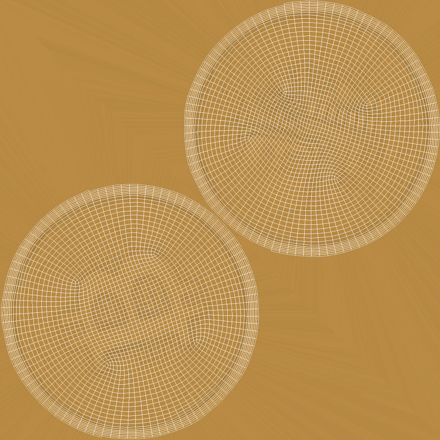 Gold-Bitcoin-Münze royalty-free 3d model - Preview no. 9