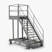 Mobile Treppen 3d model