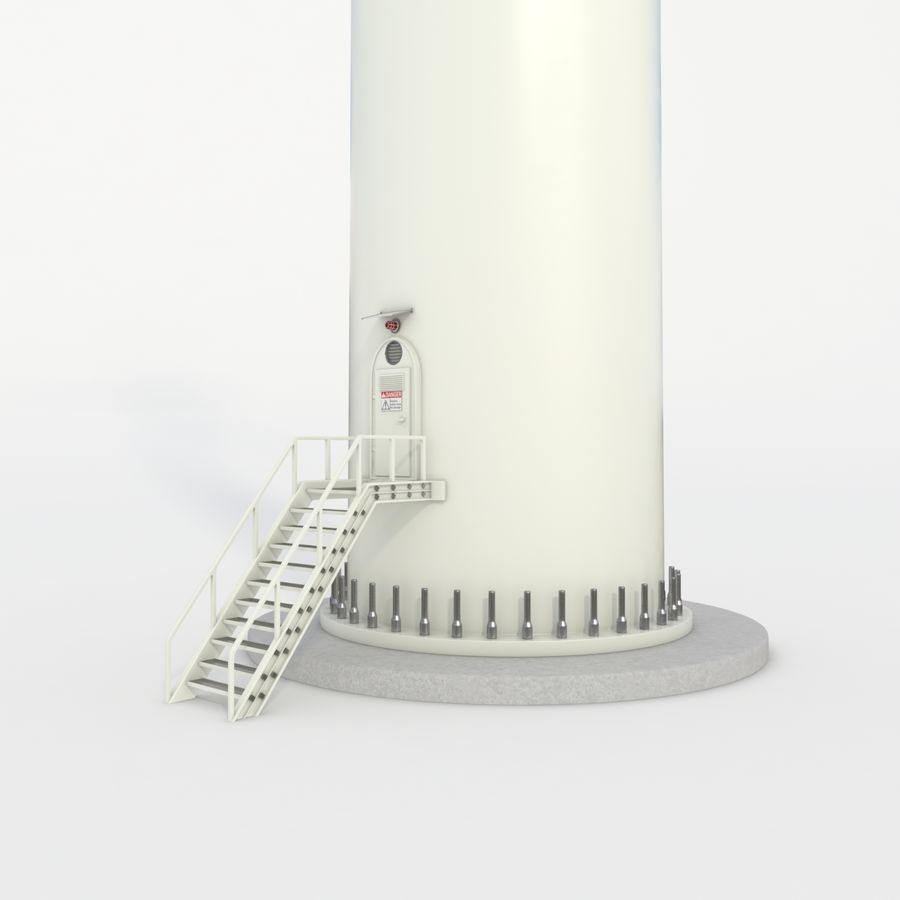 Wind Turbine royalty-free 3d model - Preview no. 22