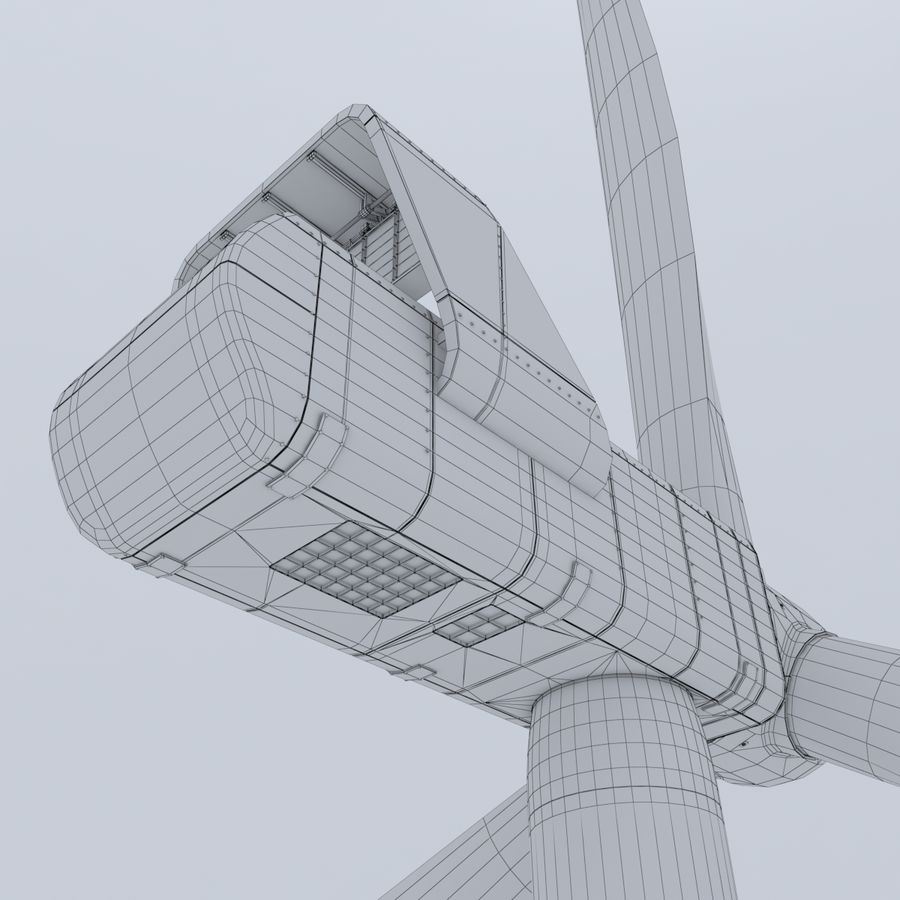 Wind Turbine royalty-free 3d model - Preview no. 16