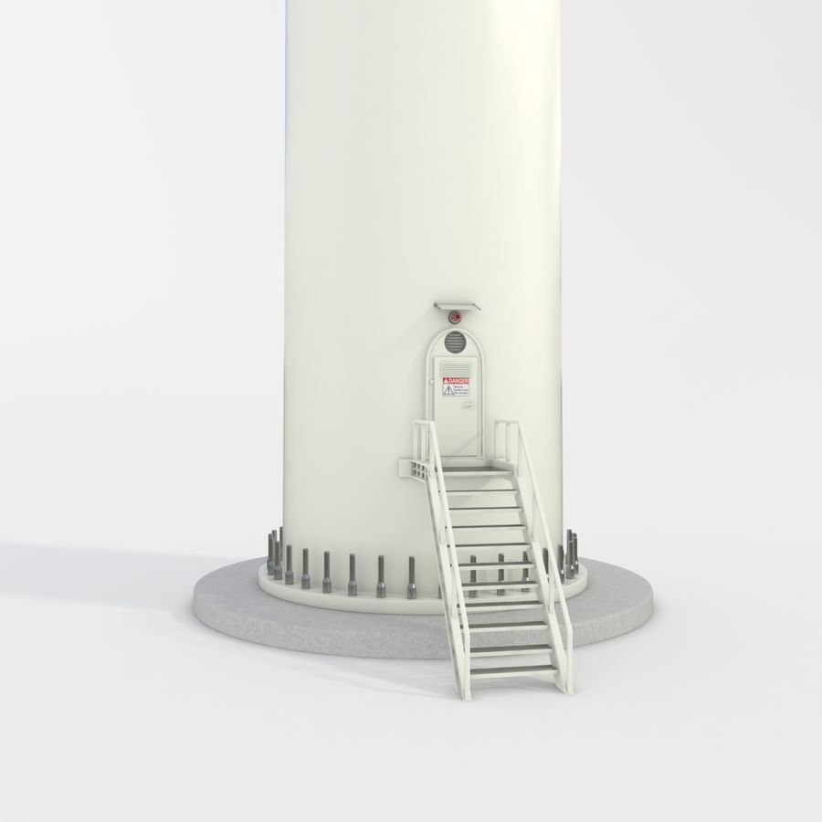 Wind Turbine royalty-free 3d model - Preview no. 23