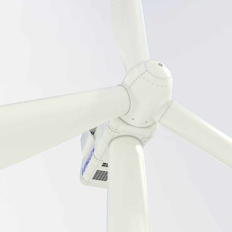 Wind Turbine royalty-free 3d model - Preview no. 5