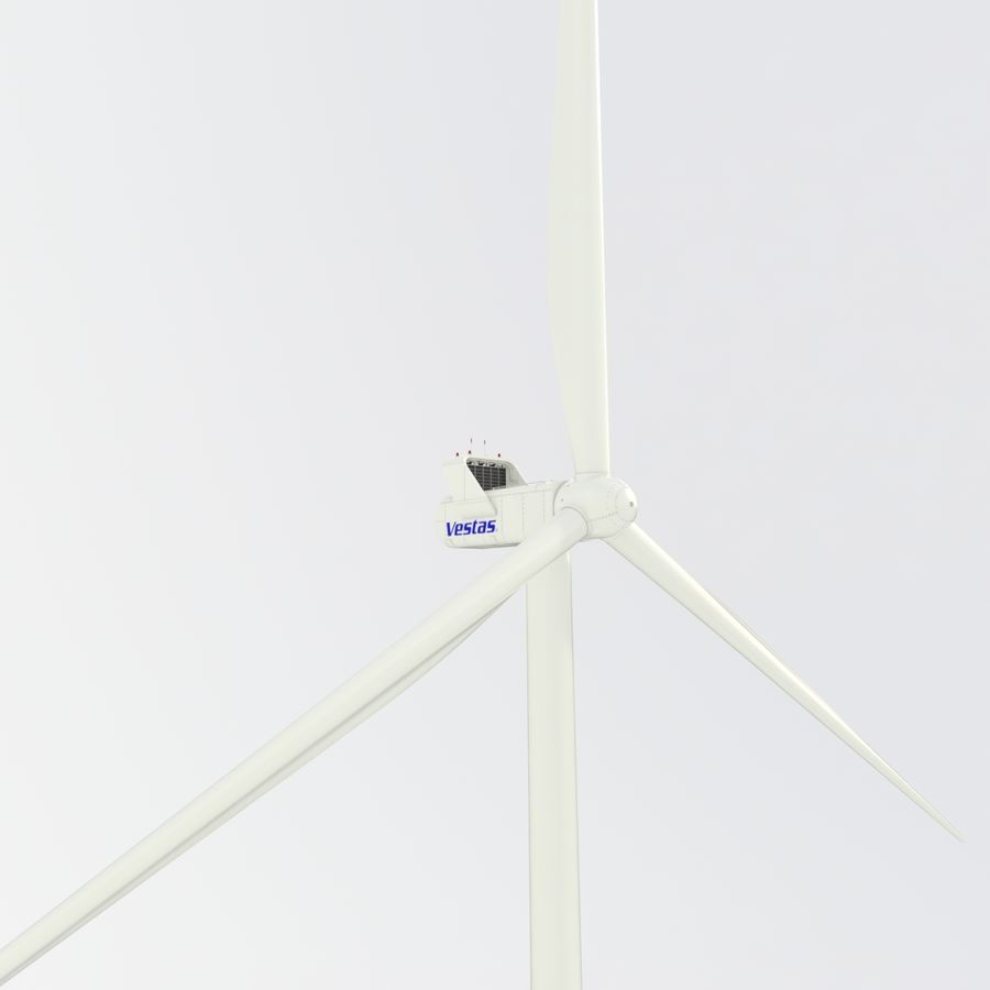 Wind Turbine royalty-free 3d model - Preview no. 17