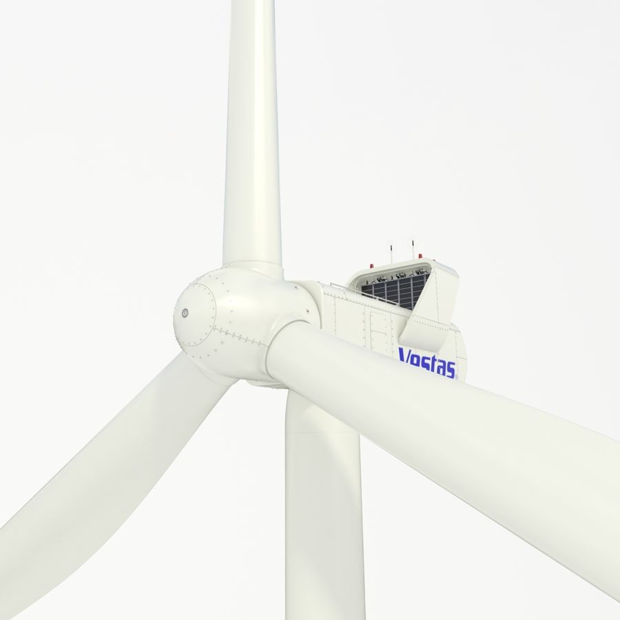Wind Turbine royalty-free 3d model - Preview no. 3
