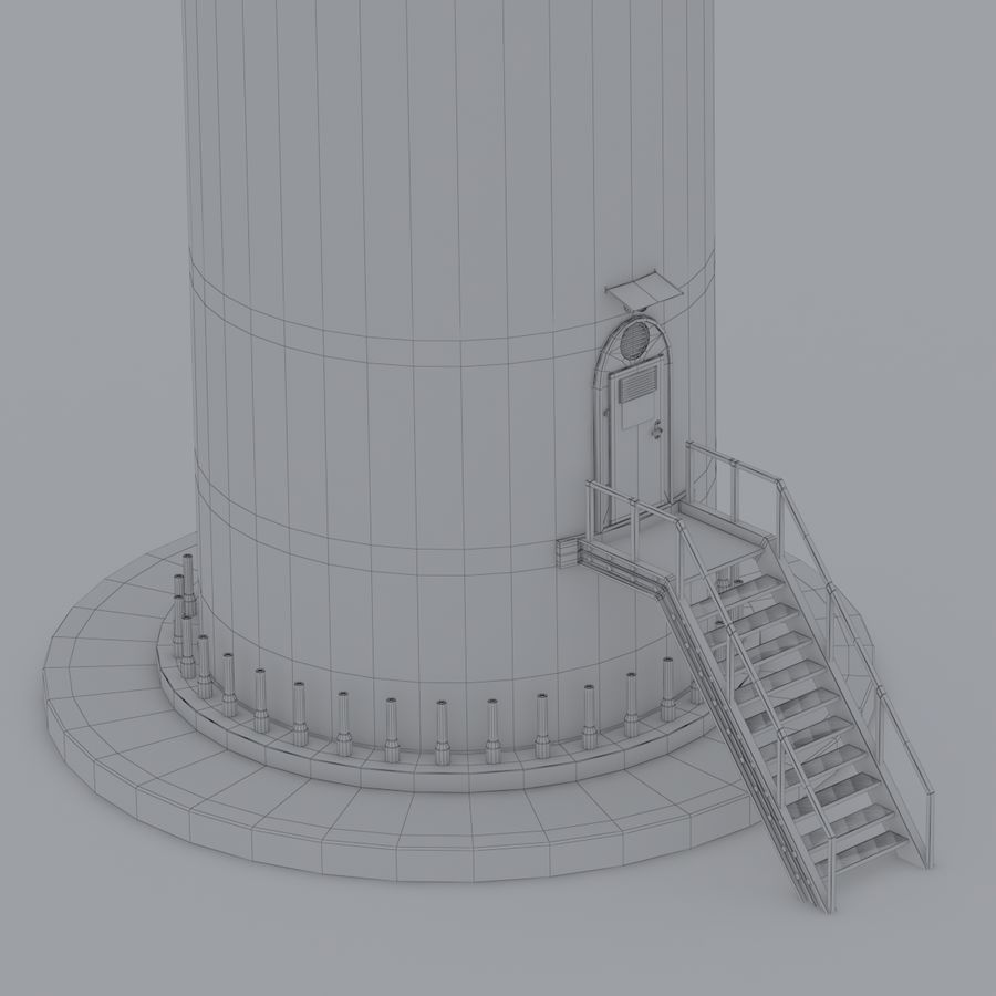 Wind Turbine royalty-free 3d model - Preview no. 20