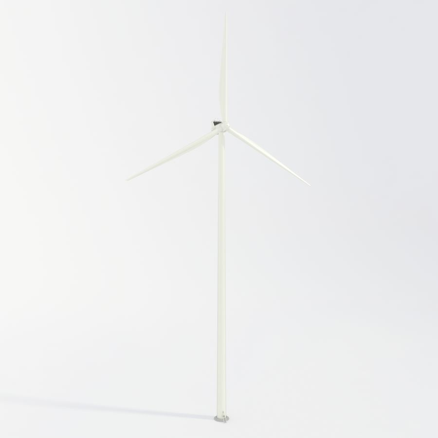 Wind Turbine royalty-free 3d model - Preview no. 25
