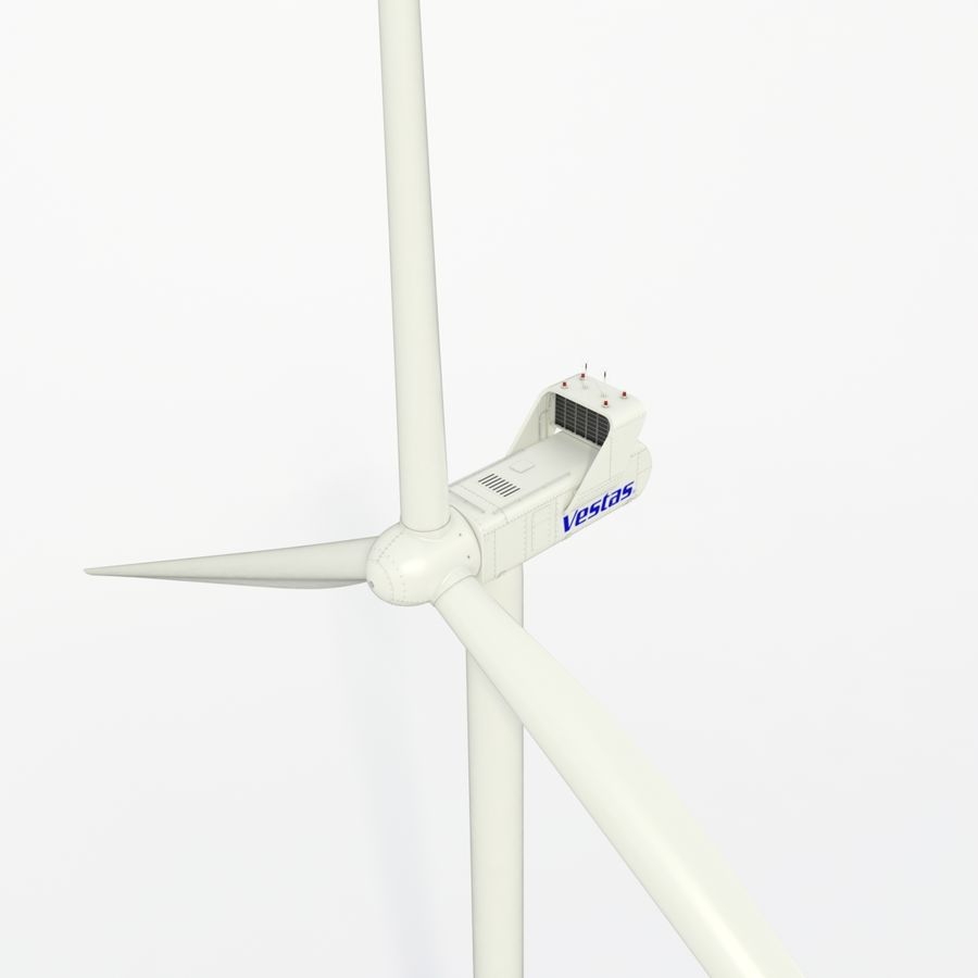 Wind Turbine royalty-free 3d model - Preview no. 15