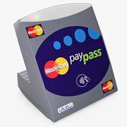 万事达卡PayPass终端 3d model