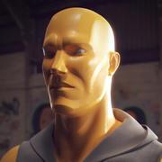 Planar Man 3d model