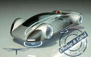 \\ T // Hover Car 12 3d model