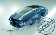 \\T// Hover Car 10 3d model
