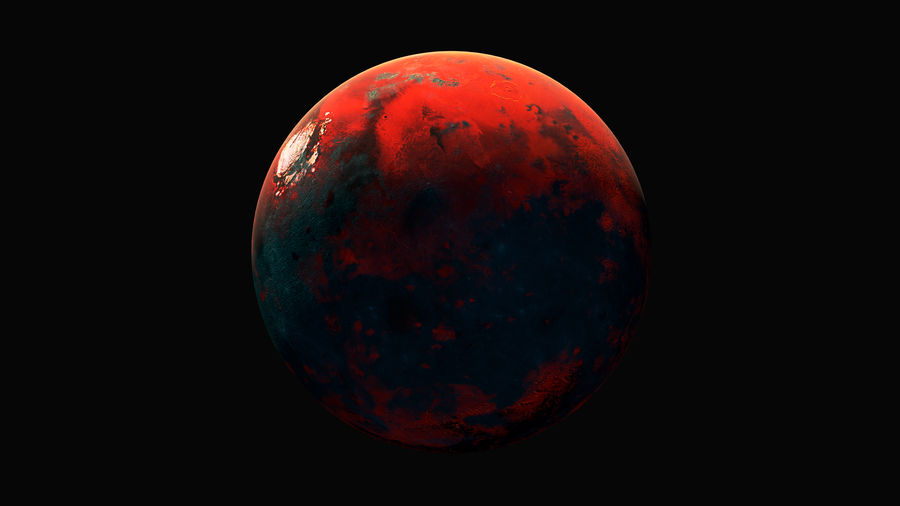 Planet Sci Fi royalty-free 3d model - Preview no. 2