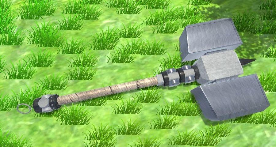 中世纪武器 royalty-free 3d model - Preview no. 7