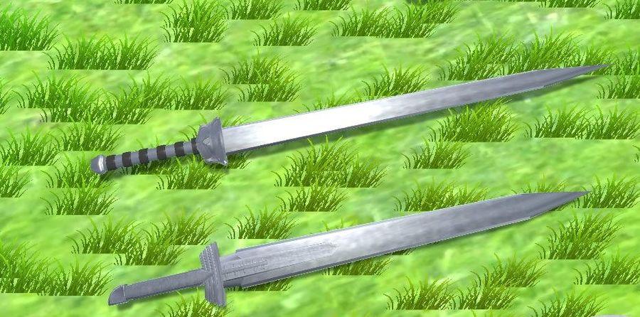 中世纪武器 royalty-free 3d model - Preview no. 8